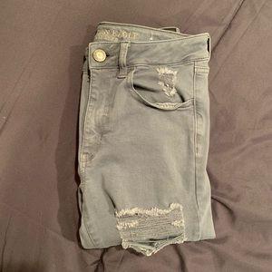 Distressed American Eagle pants
